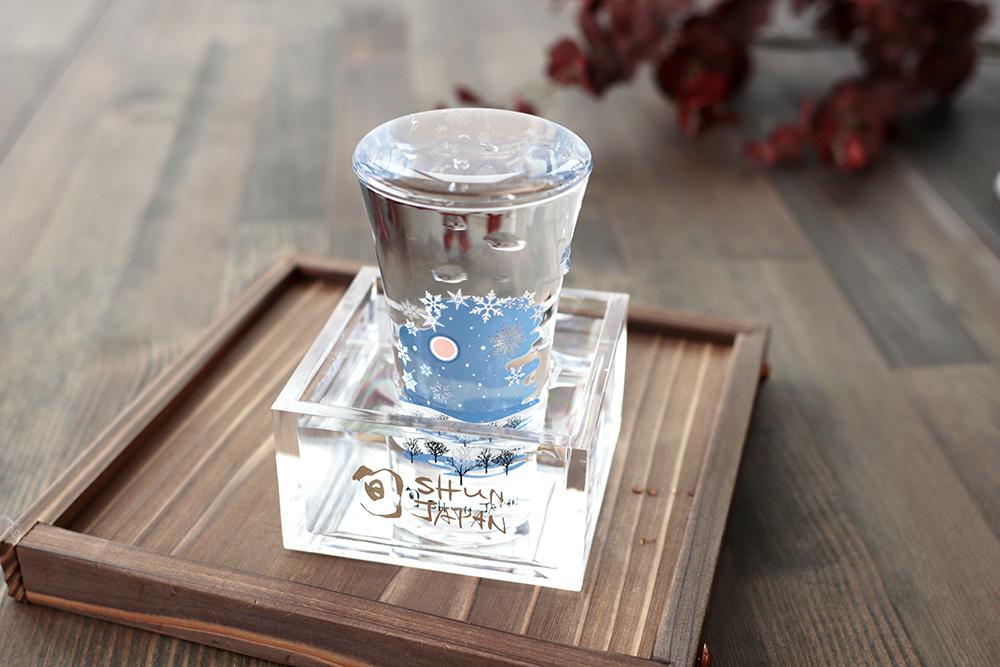 冷感雪結晶/天開グラス