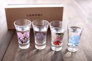 冷感日本四季天開グラス