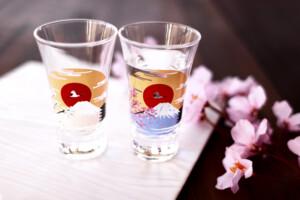 冷感桜富士山天開グラス
